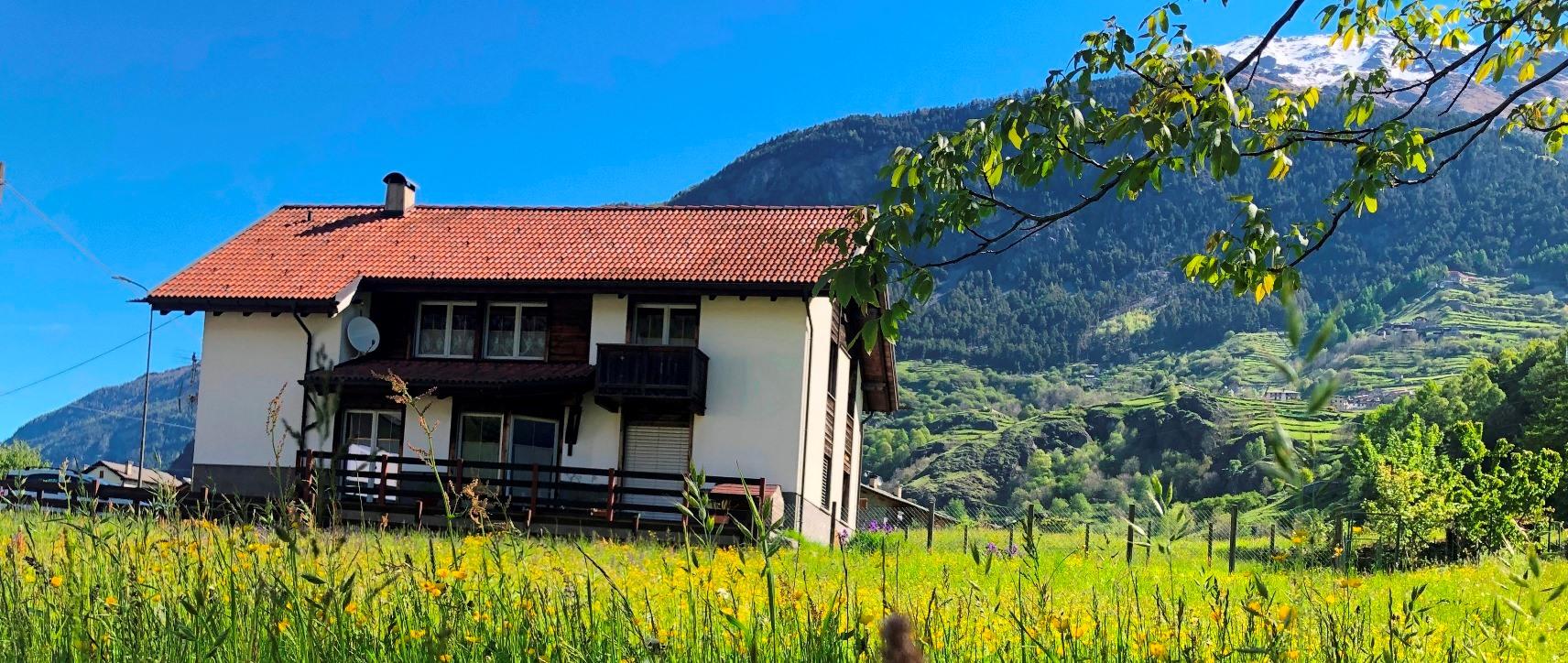 Villa immersa nel verde vicino a Bormio