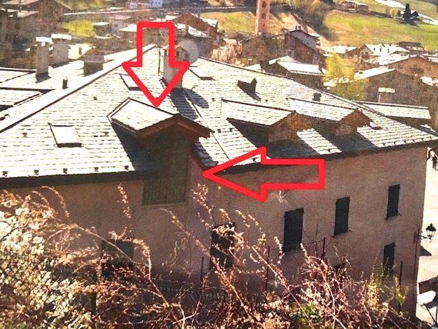 Mansarda in casa ristrutturata in centro Bormio