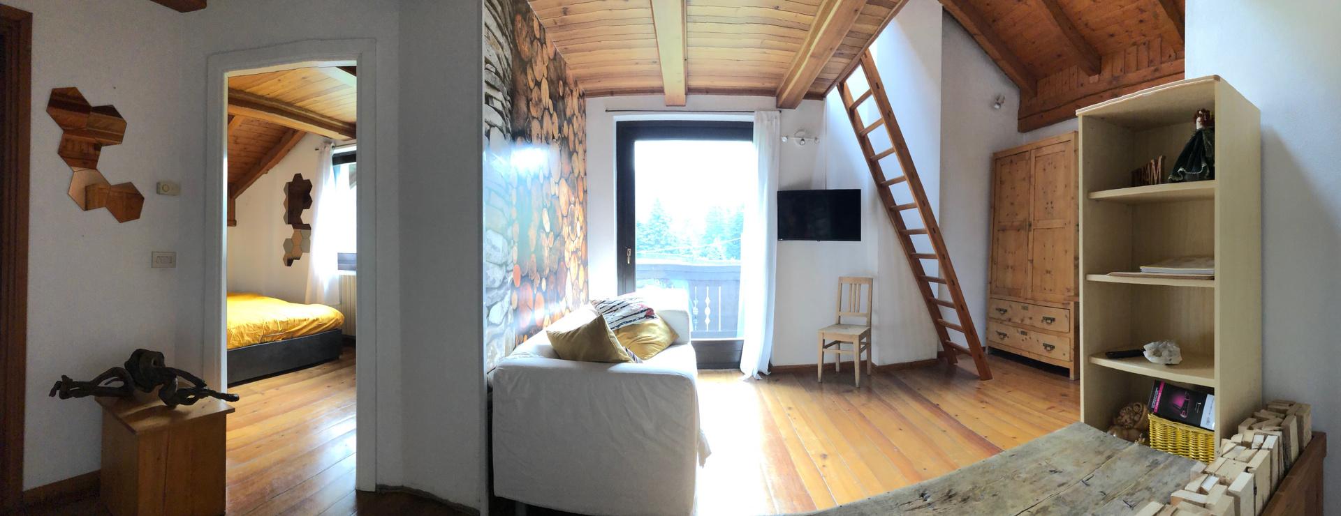 Appartamento a Bormio in piccolo chalet immerso nel verde